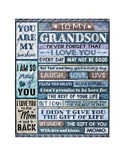 BELIEVE IN YOURSELF - AMAZING GIFT FOR GRANDSON Quilt tile