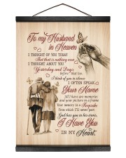 I HAVE YOU IN MY HEART - BEST GIFT FOR HUSBAND 12x16 Black Hanging Canvas thumbnail