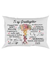 YOU'LL FEEL MY LOVE - BEST GIFT FOR GRANDDAUGHTER Rectangular Pillowcase front