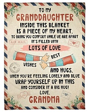 """PERFECT BLANKET FOR GRANDDAUGHTER FROM GRANDMA Small Fleece Blanket - 30"""" x 40"""" front"""