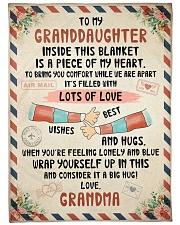 PERFECT BLANKET FOR GRANDDAUGHTER FROM GRANDMA Fleece Blanket tile