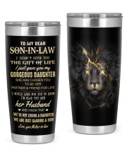 THE GIFT OF LIFE - LOVELY GIFT FOR SON-IN-LAW 20oz Tumbler front