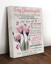I'LL ALWAYS BE WITH YOU - GIFT FOR GRANDDAUGHTER 11x14 Gallery Wrapped Canvas Prints aos-canvas-pgw-11x14-lifestyle-front-17