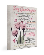 I'LL ALWAYS BE WITH YOU - GIFT FOR GRANDDAUGHTER 11x14 Gallery Wrapped Canvas Prints front