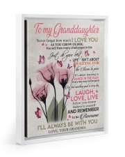 I'LL ALWAYS BE WITH YOU - GIFT FOR GRANDDAUGHTER 11x14 White Floating Framed Canvas Prints thumbnail