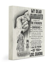 I AM SO PROUD OF YOU - BEST GIFT FOR GRANDDAUGHTER 11x14 Gallery Wrapped Canvas Prints front
