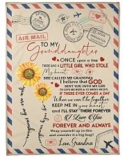 I LOVE YOU - TO GRANDDAUGHTER FROM GRANDMA Fleece Blanket tile