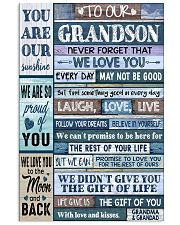 LAUGH LOVE LIFE - GRANDMA GRANDAD TO GRANDSON 11x17 Poster front