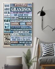 LAUGH LOVE LIFE - GRANDMA GRANDAD TO GRANDSON 11x17 Poster lifestyle-poster-1