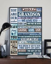 LAUGH LOVE LIFE - GRANDMA GRANDAD TO GRANDSON 11x17 Poster lifestyle-poster-2