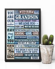 LAUGH LOVE LIFE - GRANDMA GRANDAD TO GRANDSON 11x17 Poster lifestyle-poster-8
