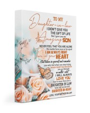 THE GIFT OF LIFE - BEST GIFT FOR DAUGHTER-IN-LAW 11x14 Gallery Wrapped Canvas Prints front