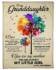 """MY LITTLE GIRL - PERFECT GIFT FOR GRANDDAUGHTER Small Fleece Blanket - 30"""" x 40"""" front"""