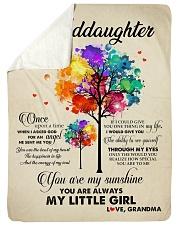 "MY LITTLE GIRL - PERFECT GIFT FOR GRANDDAUGHTER Large Sherpa Fleece Blanket - 60"" x 80"" thumbnail"
