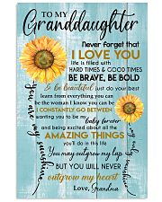 YOU ARE MY SUNSHINE - GREAT GIFT FOR GRANDDAUGHTER 11x17 Poster front