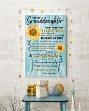 YOU ARE MY SUNSHINE - GREAT GIFT FOR GRANDDAUGHTER 11x17 Poster lifestyle-holiday-poster-3