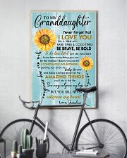 YOU ARE MY SUNSHINE - GREAT GIFT FOR GRANDDAUGHTER 11x17 Poster lifestyle-poster-7