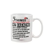 5 THINGS - PERFECT GIFT FOR NURSE Mug tile
