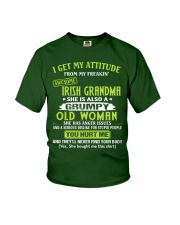 I GET MY ATTITUDE - LOVELY GIFT FOR GRANDDAUGHTER Youth T-Shirt front