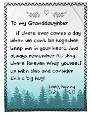 """CONSIDER THIS A BIG HUG - NANNY TO GRANDDAUGHTER Small Fleece Blanket - 30"""" x 40"""" front"""