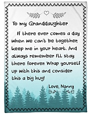 CONSIDER THIS A BIG HUG - NANNY TO GRANDDAUGHTER Fleece Blanket tile