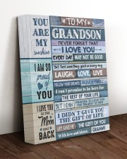 THE GIFT OF YOU - BEAUTIFUL GIFT TO GRANDSON 11x14 Gallery Wrapped Canvas Prints aos-canvas-pgw-11x14-lifestyle-front-17