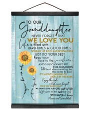JUST DO YOUR BEST - GREAT GIFT FOR GRANDDAUGHTER Hanging Canvas tile
