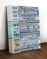 THE GIFT OF YOU - BEST GIFT FOR GRANDSON 11x14 Gallery Wrapped Canvas Prints aos-canvas-pgw-11x14-lifestyle-front-17