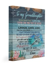 THE GIFT OF YOU - TO GRANDDAUGHTER FROM OMA 11x14 Gallery Wrapped Canvas Prints front