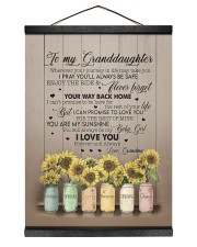 YOUR WAY BACK HOME - TO GRANDDAUGHTER FROM GRANDMA Hanging Canvas tile