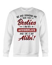 SHE IS MY ALIBI - GREAT GIFT FOR GRANDSON Crewneck Sweatshirt tile