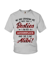 SHE IS MY ALIBI - GREAT GIFT FOR GRANDSON Youth T-Shirt front