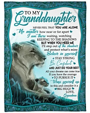 BIG HUG - AMAZING GIFT FOR GRANDDAUGHTER Fleece Blanket tile