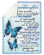 """TO GIVE YOU COMFORT - GREAT GIFT FOR GRANDDAUGHTER Large Sherpa Fleece Blanket - 60"""" x 80"""" thumbnail"""