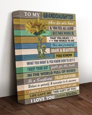 BELIEVE IN YOURSELF - GRANDMA TO GRANDDAUGHTER  11x14 Gallery Wrapped Canvas Prints aos-canvas-pgw-11x14-lifestyle-front-17