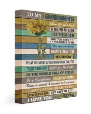BELIEVE IN YOURSELF - GRANDMA TO GRANDDAUGHTER  11x14 Gallery Wrapped Canvas Prints front