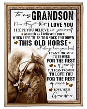 """BELIEVE IN YOURSELF - GREAT GIFT FOR GRANDSON Small Fleece Blanket - 30"""" x 40"""" front"""