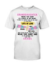 I'LL BE HUGGING YOU - BEST GIFT FOR GRANDDAUGHTER Classic T-Shirt tile
