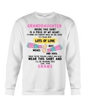 I'LL BE HUGGING YOU - BEST GIFT FOR GRANDDAUGHTER Crewneck Sweatshirt tile