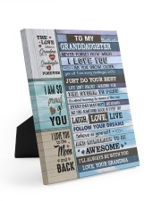 FOLLOW YOUR DREAMS - BEST GIFT FOR GRANDDAUGHTER Easel-Back Gallery Wrapped Canvas tile