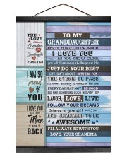 FOLLOW YOUR DREAMS - BEST GIFT FOR GRANDDAUGHTER Hanging Canvas tile