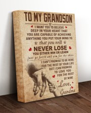 NEVER LOSE - SPECIAL GIFT FOR GRANDSON 11x14 Gallery Wrapped Canvas Prints aos-canvas-pgw-11x14-lifestyle-front-17