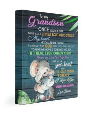 I LOVE YOU - BEST GIFT FOR GRANDSON 11x14 Gallery Wrapped Canvas Prints front