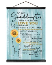 I LOVE YOU - GREAT GIFT FOR GRANDDAUGHTER Hanging Canvas tile