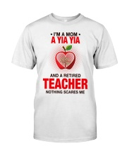 NOTHING SCARES ME - PERFECT GIFT FOR YIAYIA Premium Fit Mens Tee tile