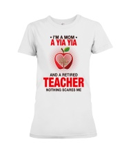 NOTHING SCARES ME - PERFECT GIFT FOR YIAYIA Premium Fit Ladies Tee tile