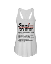 5 THINGS ABOUT MY MIMI - BEST GIFT FOR GRANDKIDS Ladies Flowy Tank tile