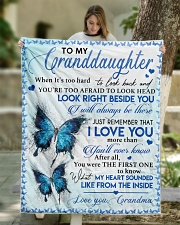 """I LOVE YOU - SPECIAL GIFT FOR GRANDDAUGHTER Quilt 50""""x60"""" - Throw aos-quilt-50x60-lifestyle-front-01"""