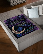 """STORM TO PASS - GRANDMA TO GRANDDAUGHTER Small Fleece Blanket - 30"""" x 40"""" aos-coral-fleece-blanket-30x40-lifestyle-front-03"""