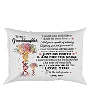 LOVE YOU - PERFECT GIFT FOR GRANDDAUGHTER FROM OMA Rectangular Pillowcase front